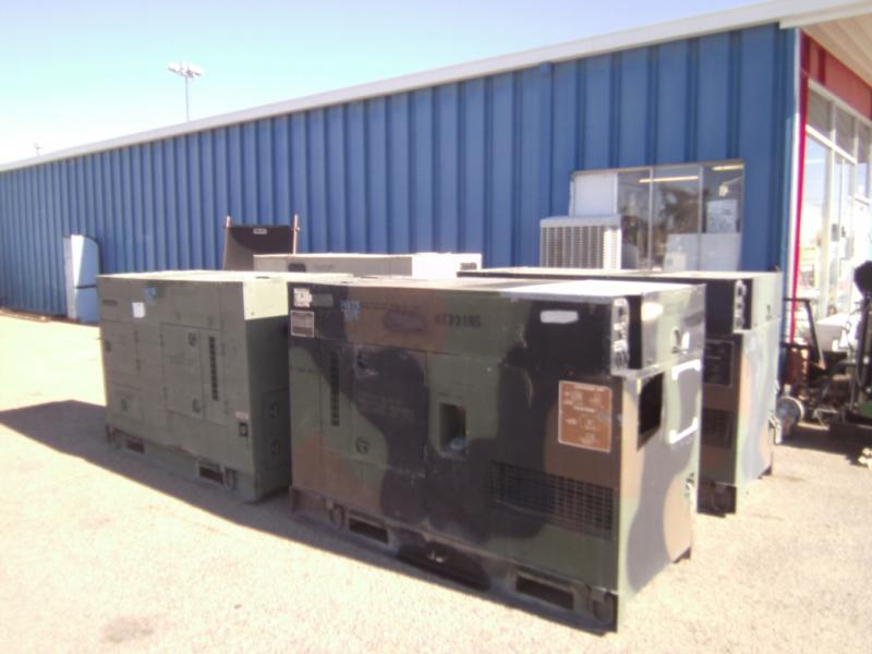 John Deere Generators Model MEP805, MEP806-$7495 & Up